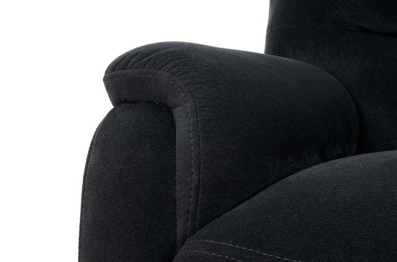 canapea gri moderna recliner confortabila