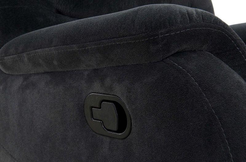 canapea ieftina gri recliner moderna pentru living