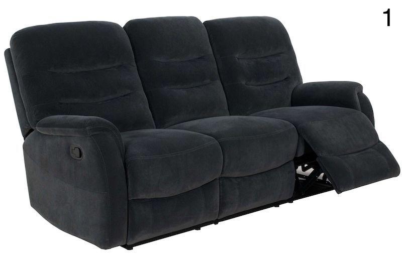canapea recliner gri moderna living canapea ieftina