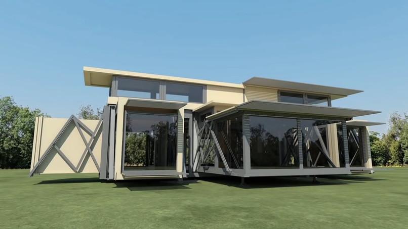 casa portabila pop up moderna casa technologie noua