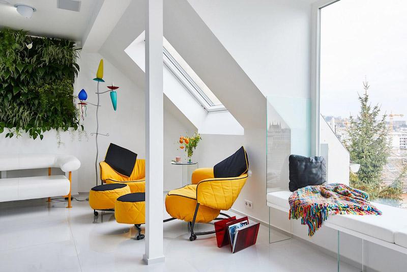 idei amenajare living modern in apartament cu 2 camere