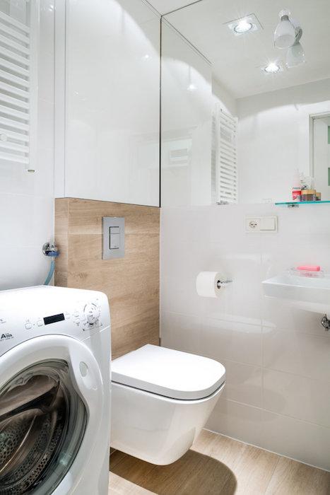 model baie mica in garsoniera amenajare wc in baie