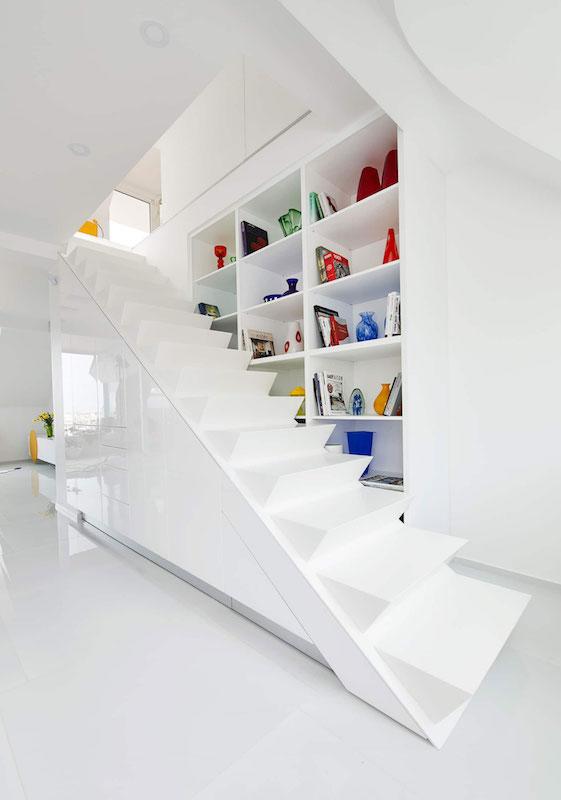 scara in apartament modern idei amenajare apartament