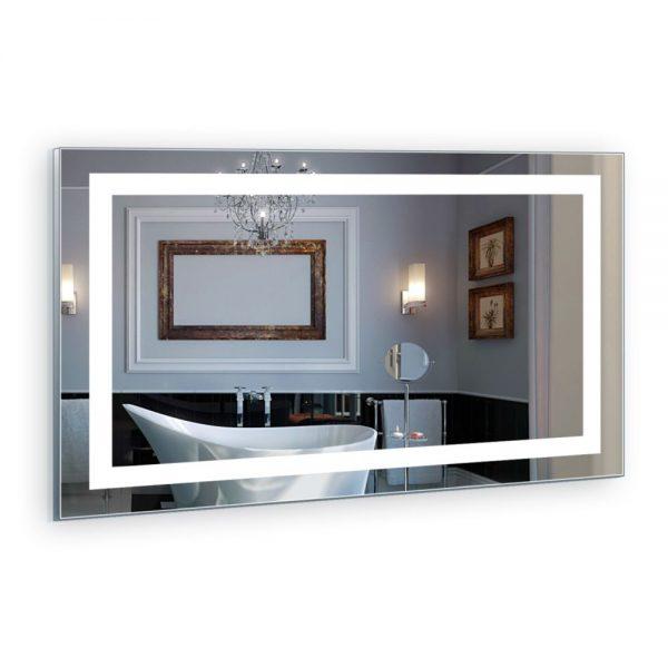 Oglinda cu iluminare LED, Sistem Antiaburire, Design Modern 100x70 cm modern