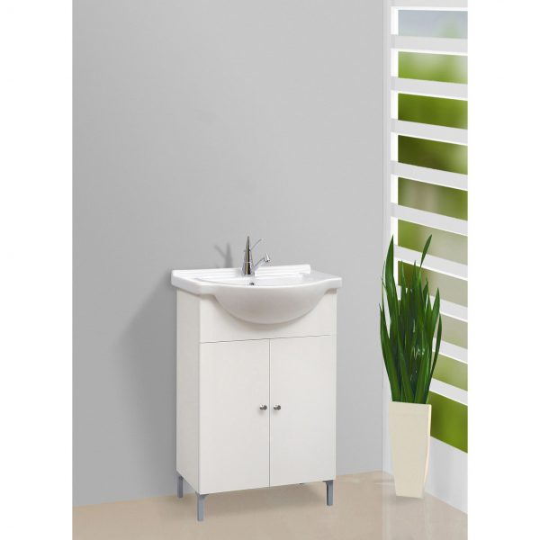 lavoar cu doua usi si lavoar ceramic 49x86x40cm mobilier baie modern chiuveta