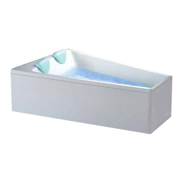 Cada de baie pentru 2 persoane, Asimetrica, 170 x 130:65 cm, Aquavit Venice