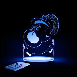 Lampă cu LED pentru copii, Elefant Aloka