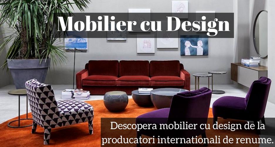 Mobilier cu Design Romania Design