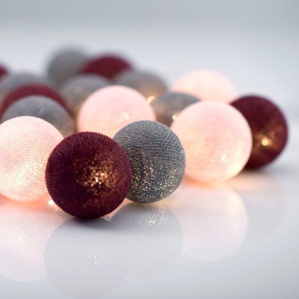 Șirag luminos Irislights Ruby, 35 beculețe