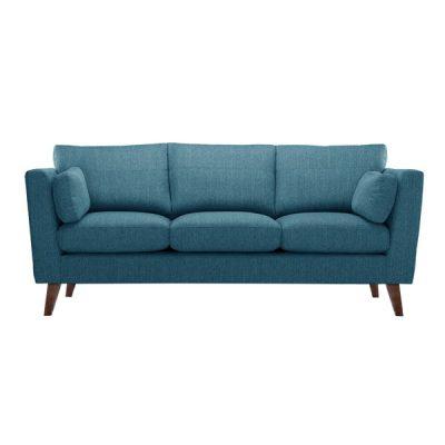 Canapea pentru 3 persoane Jalouse Maison Elisa, turcoaz