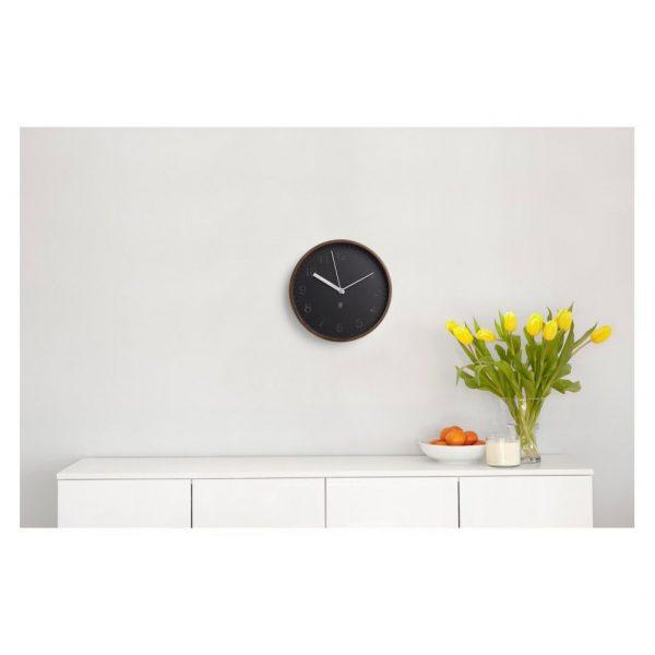 ceas cu design modern Ceas modern din lemn de nuc Umbra Rimwood