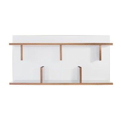 Raft de perete TemaHome Bern, lungime 90 cm, alb