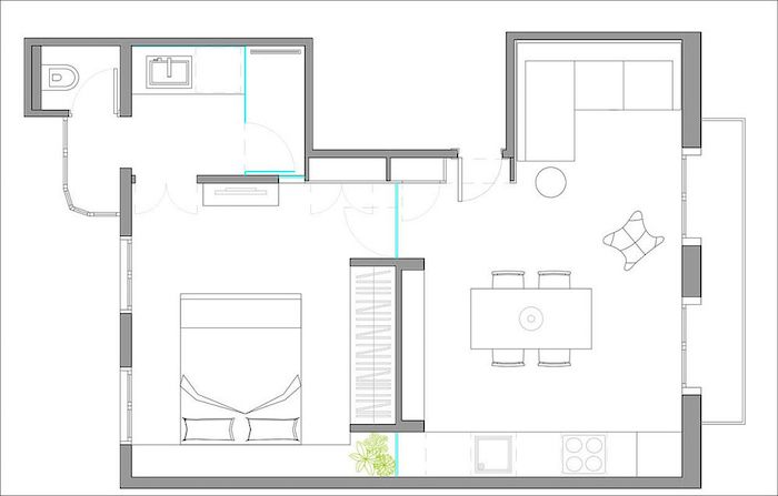 Amenajare apartament 40 mp modern amenajari apartamente 12