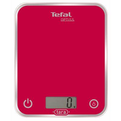 Cantar de bucatarie Tefal Optima, 5kg, Roz