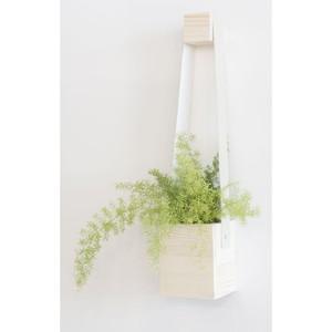 Ghiveci Really Nice Things Colgante, ⌀ 17 x 62 cm, alb