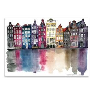 Poster Amsterdam, 30 x 42 cm
