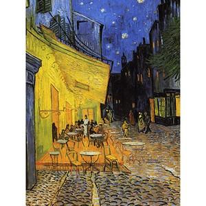 Reproducere tablou Vincent van Gogh – Cafe Terrace, 60 x 45 cm