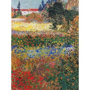 Reproducere tablou Vincent van Gogh – Flower garden, 40 x 30 cm