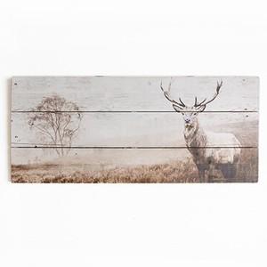 Tablou lemn Graham & Brown Stag, 70 x 30 cm