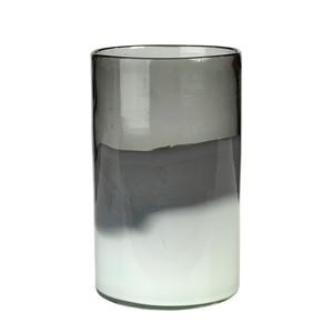 Vază decorativă Pols Potten Smoke, înălțime 24 cm, gri