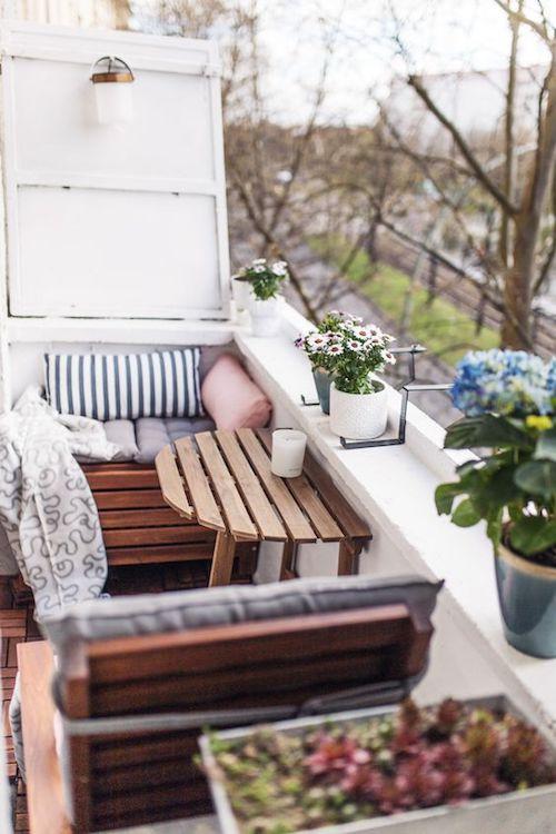 idee amenajare balcon mic amenajare balcon ingust