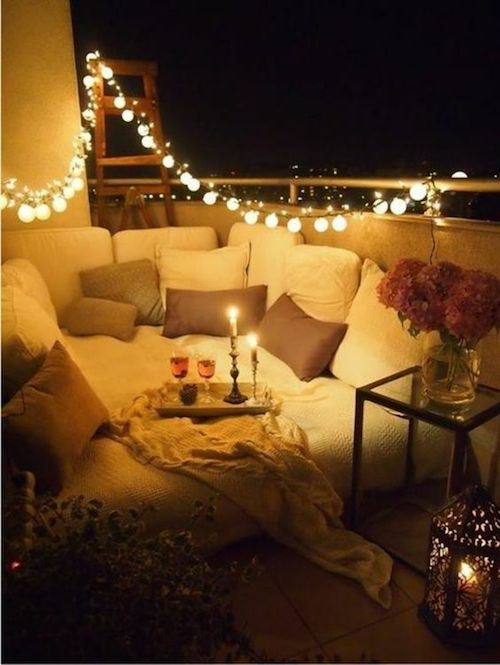 lumini pentru balcon amenajare balcon