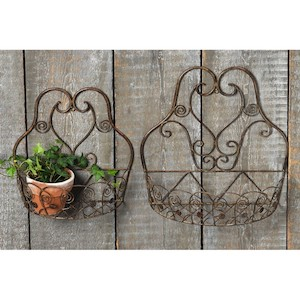 Set 2 suporturi ghivece flori Boltze Vintage