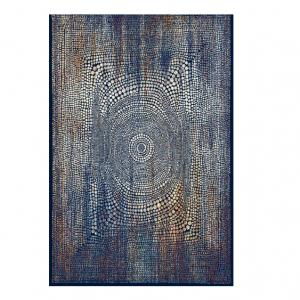 Covor albastru, Stil modern, 5 dimensiuni, Modele abstracte, Navy Blue