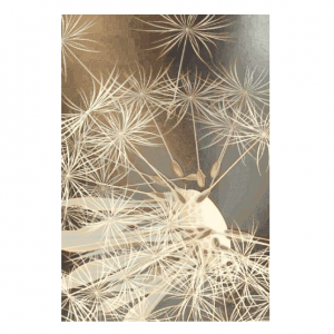 Covor bej, Stil modern, 4 dimensiuni, Modele florale, Pratum Beige