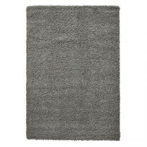 Covor gri pufos, Stil modern, 4 dimensiuni disponibile, Monocrom