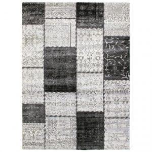 Covor gri si negru, Stil modern, 2 dimensiuni disponibile, Tango