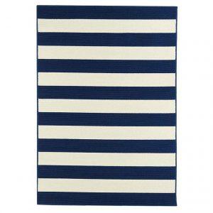 Covor navy, Stil modern, 2 dimensiuni disponibile, Stripes