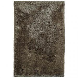 Covor pufos maro, 120x170 cm, Stil modern