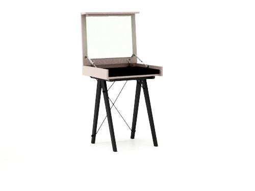 Masa Machiaj Mica Moderna Cu Oglinda 5 Culori Disponibile 60x50x75