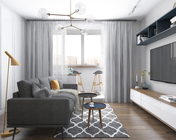 Amenajare dormitor si living in aceeasi camera Dormitorul si livingul in aceeasi camera