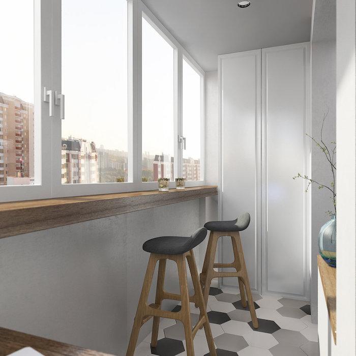 idee amenajare balcon cu bar
