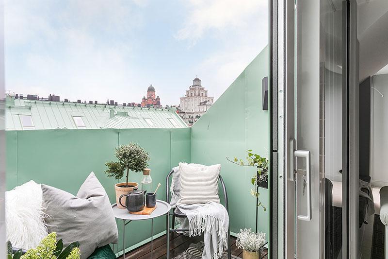idee amenajare balcon garsoniere amenajate modern