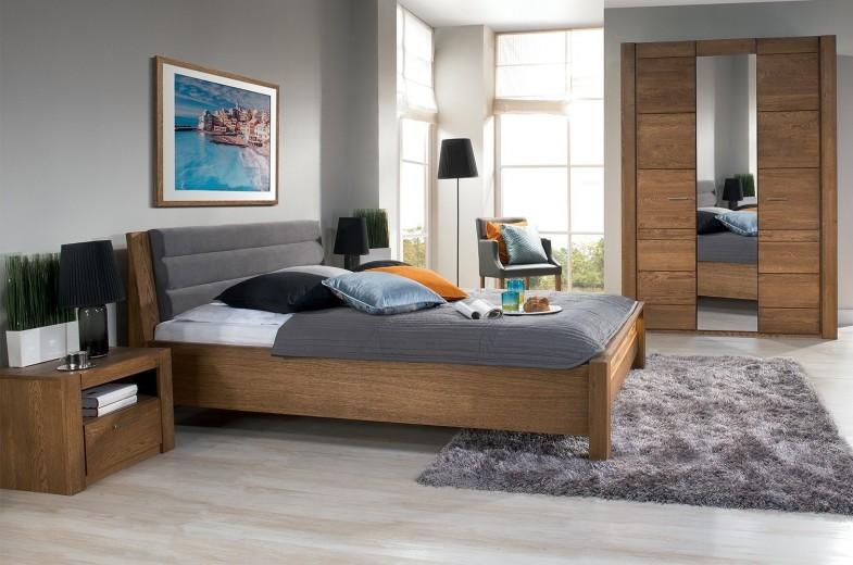 Noptiera din lemn, Moderna Culoare maro