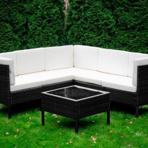 Set mobilier gradina pentru colturi 1 modul de colt 1 masuta