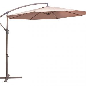 Umbrela de gradina maro Design modern Diametru 3 m