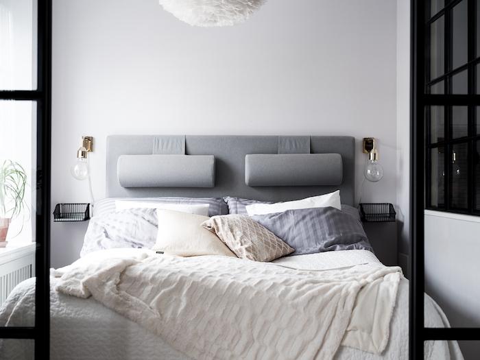 amenajare dormitor in garsoniera