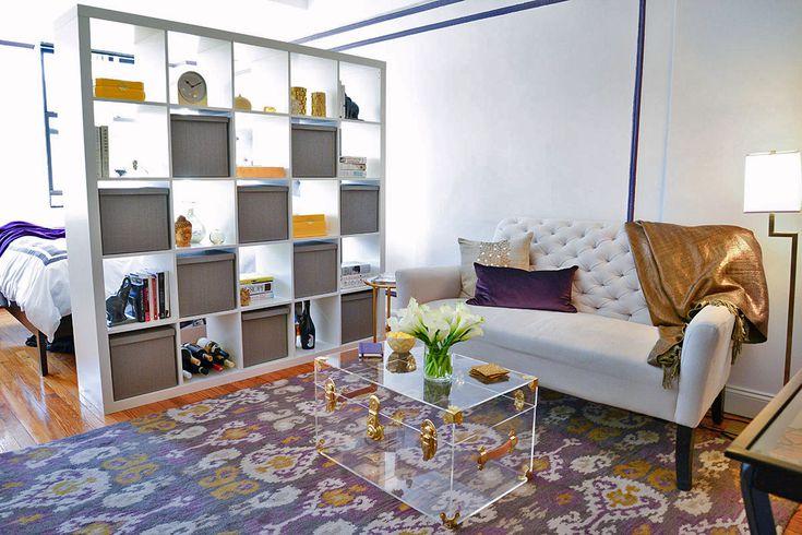 dulap despartitor living dormitor modern