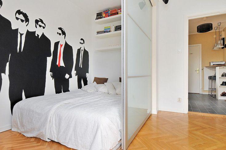 idee amenajare living cu dormitor modern