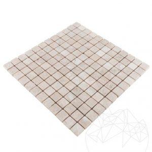 Mozaic Marmura Cappuccino Antichizata 2.3 x 2.3cm
