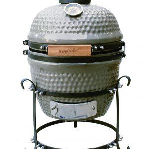 Grill BBQ Ceramic, Grey, 26 cm, Studio Line