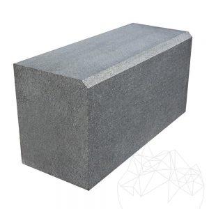 Bordura Granit Gri Antracit 20 x 25 x 50cm