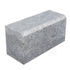 Bordura Granit Gri Sare si Piper 20 x 25 x 50cm