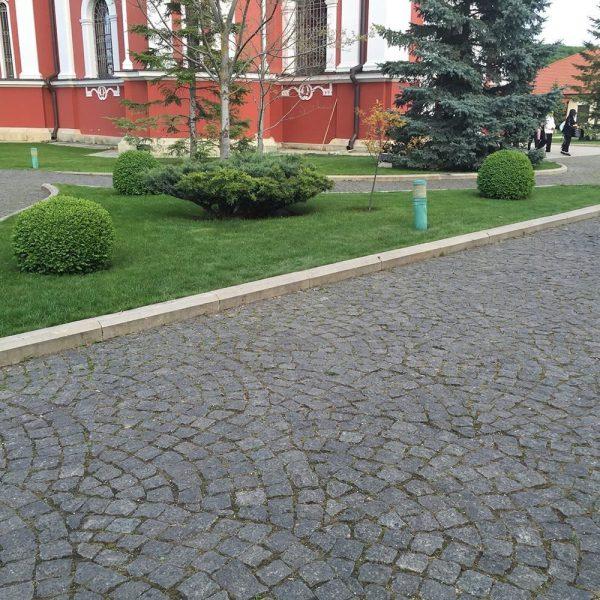 Piatra Cubica Granit Gri Antracit Natur 10 x 10 x 10cm