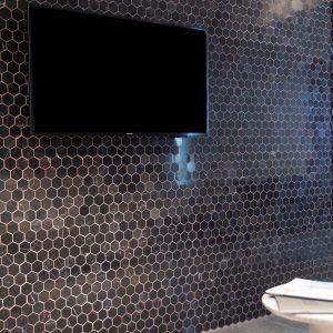 Mozaic Marmura Cleopatra Hexagon Polisata 4.8 x 4.8 cm