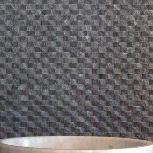 Mozaic Marmura Black Oval Scapitata 1.8 x 5 cm
